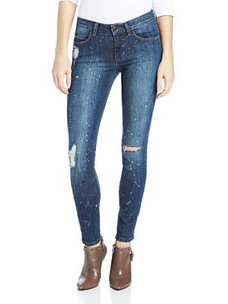 Siwy Womens Ladonna Mid Rise Slim Crop Jean in Artist Wash, 30