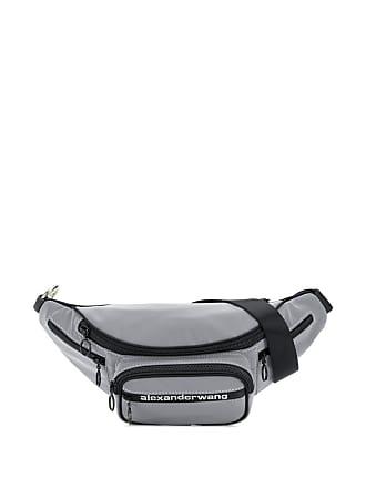 Alexander Wang logo belt bag - Prateado