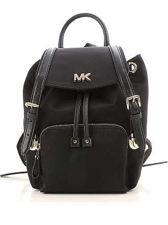 eb9accc2cbc1 Michael Kors Backpack for Women On Sale, Black, Nylon, 2017, one size