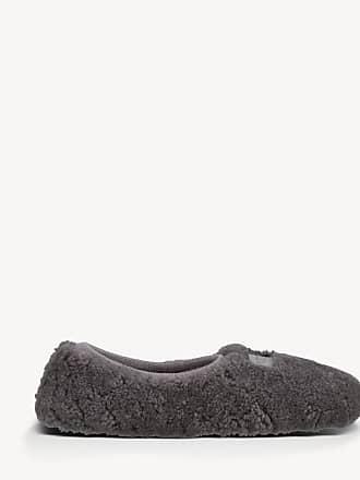 UGG Womens Birch Slippers Grey Size 9 Sheepskin From Sole Society