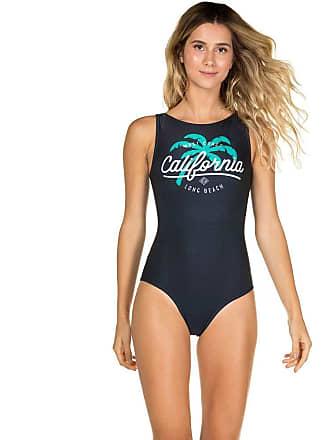 Agua Doce Body Regata com Decote Canoa Long Beach MARINHO P