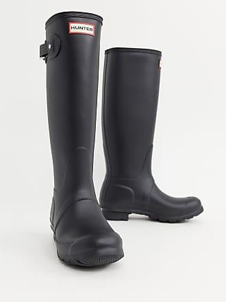 Hunter Original Tall - Stivali da pioggia neri - Nero b7531a93e4a