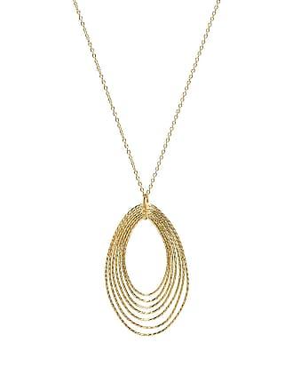 Gorjana Presley Adjustable Pendant Necklace in Metallic Gold