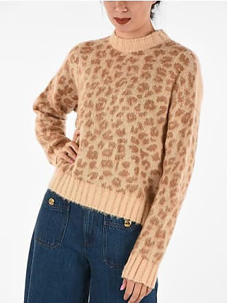 Drome Leopard Printed Turtleneck Sweater size Xs