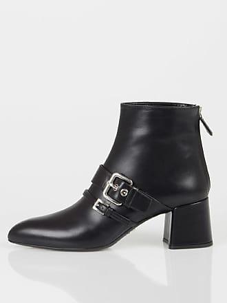 Prada 6cm Leather Heel Shoes size 37