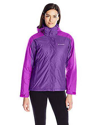 Columbia Womens Gotcha Groovin Jacket, Iris Glow/Bright Plum, Large