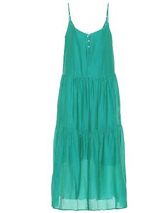 Velvet Simone cotton and silk midi dress