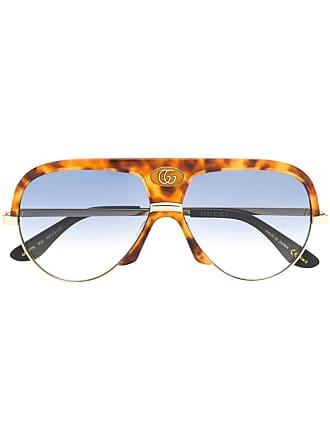 fec373e786b8 Gucci Aviator Sunglasses for Women: 146 Items | Stylight