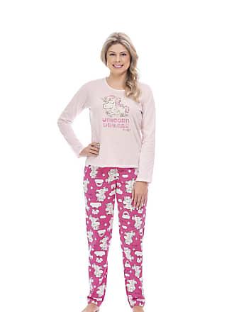 Quimby Pijama Blusa E Calça Meia Malha Mãe E Filha Quimby