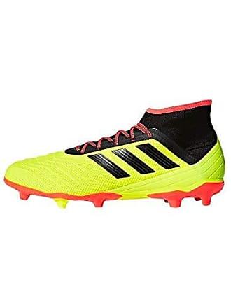 info for d235e 26f7b adidas Performance Herren Fußballschuhe Rasen Predator 18.2 Gelb Schwarz  (711) 451 3