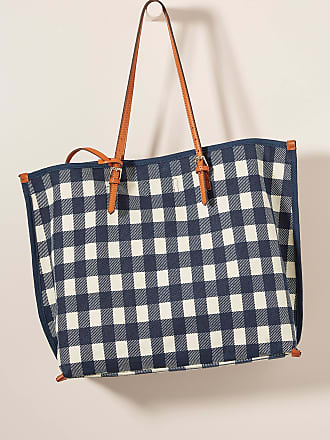 Anthropologie Shauna Canvas Tote