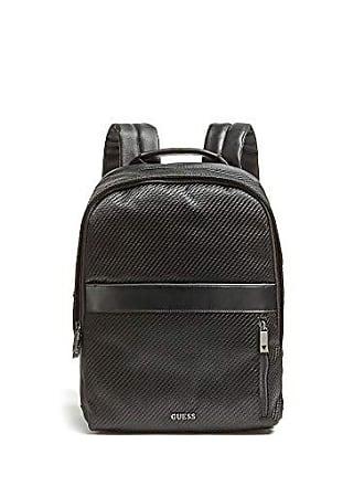 73340e1605 Guess Global Functional Backpack, Zaino Uomo, Nero (Black), 12x39x29 cm (