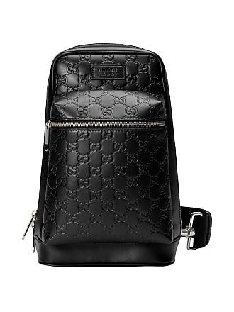 f113c2e1a3a4 Gucci Gucci Signature leather backpack - Black