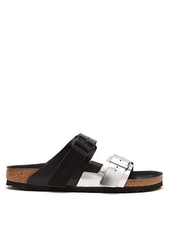 f403b499d Rick Owens X Birkenstock Arizona Leather Sandals - Mens - Black Silver