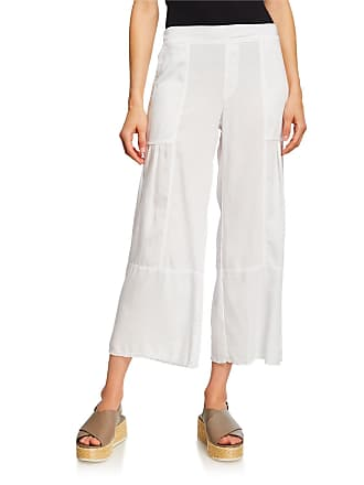 Xcvi Carolina Wide-Leg Pleated Fringe Pants