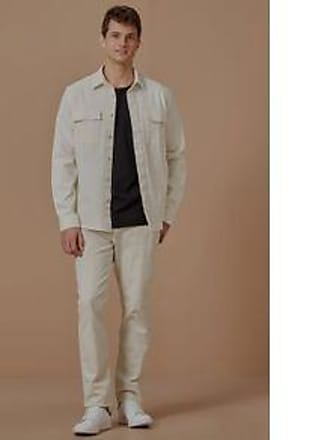 Foxton Camisa Ml Industrial Natural