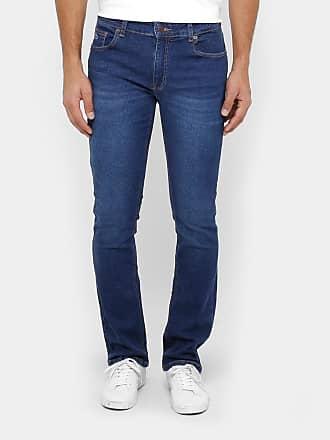 6f19ddf66eac8 Lacoste Calça Jeans Reta Lacoste Straight Fit Stone Masculina - Masculino