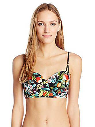 d18185ead4cd13 Nanette Lepore Womens Amor Atitlan Coquette Bustier Bra Bikini Top, Multi, S
