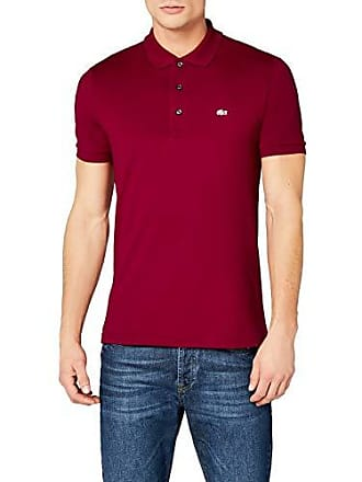 f660b39e5ab8 Lacoste PH4014 Polo, Rouge (Bordeaux 476), X-Large (Taille Fabricant