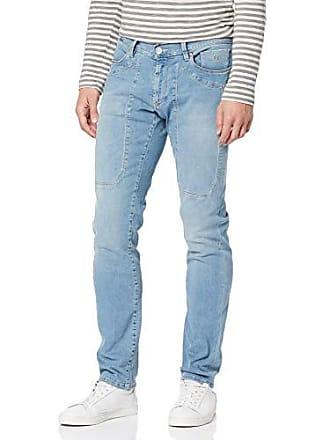 99f4f2a32d5b Jeckerson Jeckerson 5pkts patch Slim, Jeans slim Uomo, Blu (Light Blu 3bl  D617