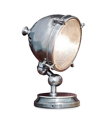 PIB Silver-plated industrial design lamp