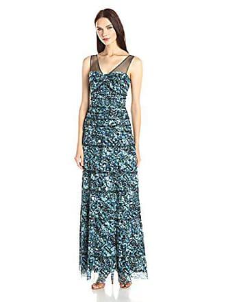 f9fc8706d18 Bcbgmaxazria BCBGMax Azria Womens Erika Maxi Dress with Kaleidoscopic Jewel  Print