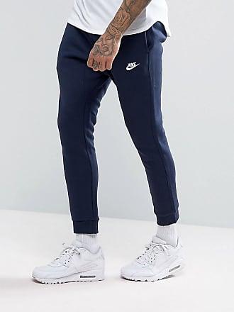 bc5a88c76547a2 Nike Club - Pantalon de jogging resserré aux chevilles - Bleu marine  804408-451 -