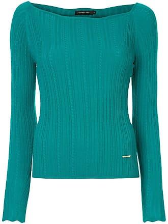 Loveless Suéter canelado - Verde