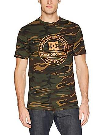 DC Mens FULLONCAMO Short Sleeve TEE Shirt, camo, L