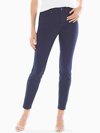 Soma Style Essentials Slimming 5 Pocket Ponte Pants, Maritime Navy, Size XXL