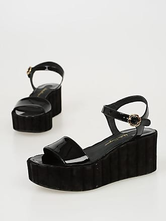Salvatore Ferragamo 7.5 cm Patent Leather TROPEA Wedges size 6,5