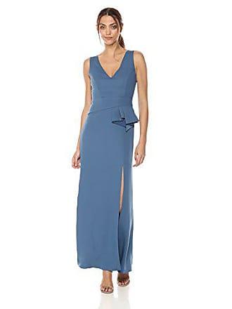 Bcbgmaxazria BCBGMax Azria Womens FOLA Woven Evening Dress, China Blue, 2