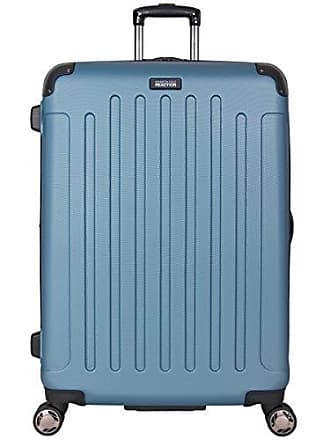 Kenneth Cole Reaction Kenneth Cole Reaction Renegade 28 Hardside Expandable 8-Wheel Spinner Checked Luggage, Ocean Blue