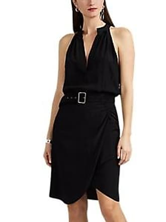 39ba5a718371b Nili Lotan Womens Collins Silk Minidress - Black Size 10