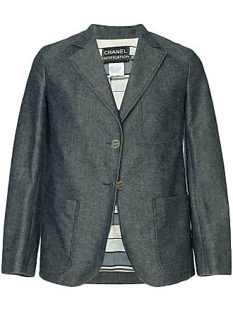 Chanel classic jacket - Blue