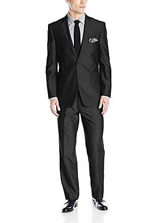 U.S.Polo Association Mens Nested Suit, Black A A, 40 Long