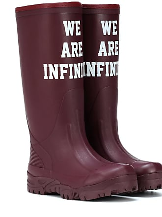 Undercover Printed rubber boots