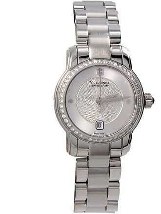 Victorinox by Swiss Army Vivante 28 mm Silver Dial Quartz Stainless Steel Womens Watch 241489
