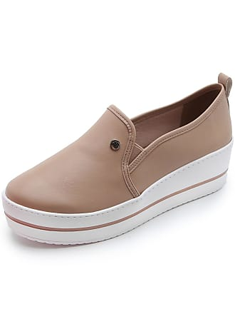 Via Marte Slip On Flatform Via Marte Liso Nude