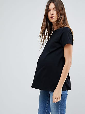 5f582f02 Asos Maternity ASOS DESIGN Maternity ultimate crew neck t-shirt in black