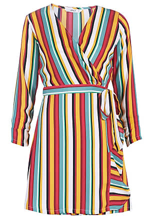 f998d50207 Only Womens Onlmilly L/s Wrap Dress WVN Multicolour 12 (Size:)
