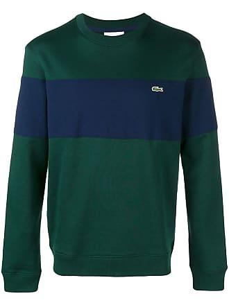 d8e9ec7856 Lacoste striped crew neck sweater - Green