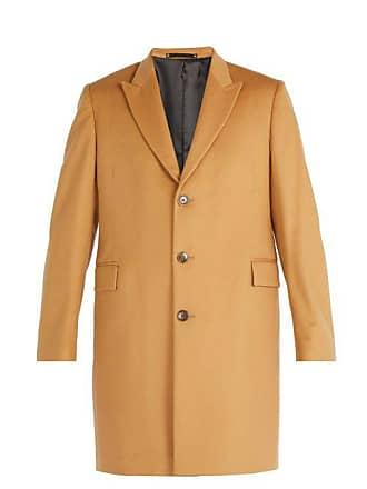 49e86c30c90 Paul Smith Pardessus en laine et cachemire boutonnage simple
