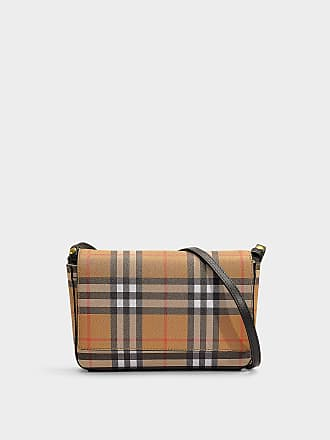 f4f86ea9020 Burberry Hampshire Wallet with Removable Strap in Black Calfskin
