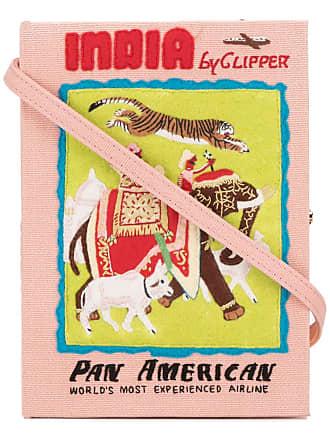 Olympia Le-Tan Clutch livro India - Rosa