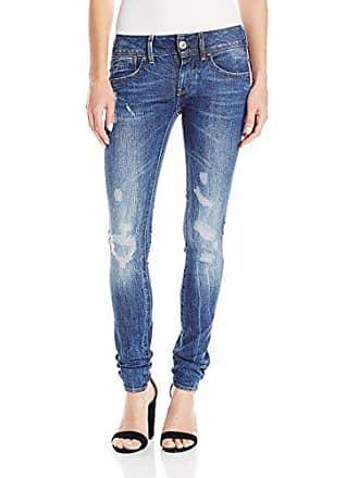 G-Star Womens Lynn Midrise Skinny-Fit Jean in Hadron Stretch, Medium Aged Antic Restored, 28