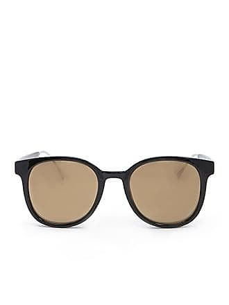 21 Men Men Round Sunglasses at Forever 21 Black/gold