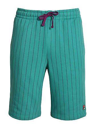 09dfede21cb Fila Vintage BB1 Pinstripe Shorts   Biscay Bay Small Green
