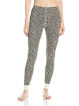 Fruit Of The Loom Womens Waffle Thermal Bottoms, Natural Animal, Small