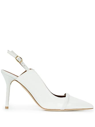 Malone Souliers Sapato bico fino - White